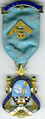 TH451-7358 Lodge of Ascension No. 7358 Founders jewel-0
