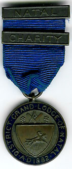 TH303 The Charity Jewel from The District Grand Lodge of Natal.-0
